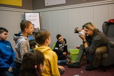 fotoplastikon_warsztaty dla dzieci_polaroid_jacek_bonecki_lekcja_3